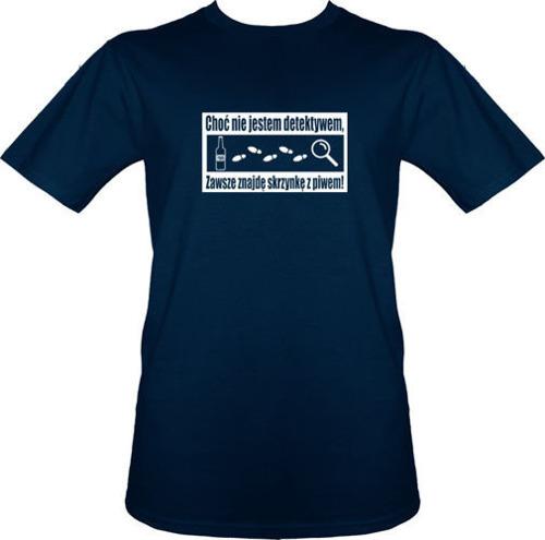 t-shirt Piwny Detektyw