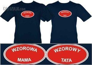 Zestaw t-shirtów Wzorowi rodzice