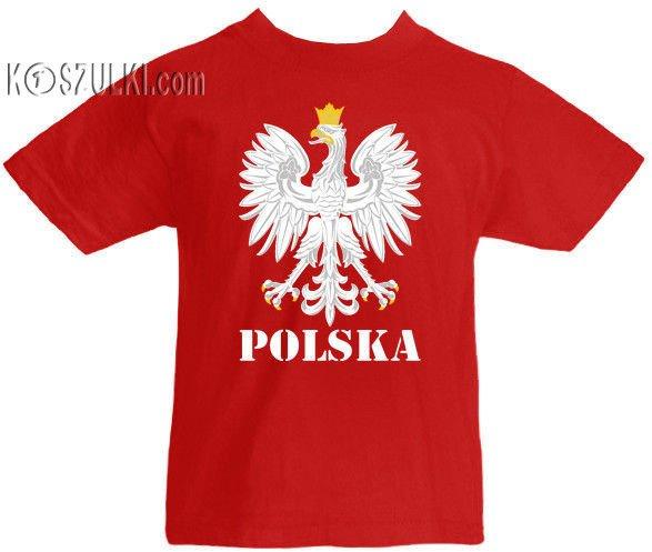 e76220a26 T-shirt dziecięcy- Orzeł Polska Czerwony   Dziecięce \ Koszulki dla ...
