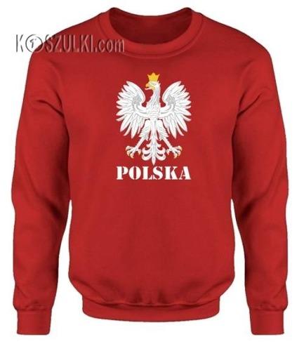 Bluza dziecięca Orzeł Polska Czerwona