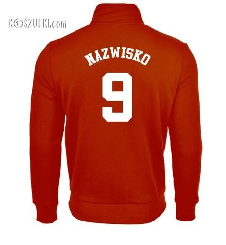 Bluza reprezentacji Polski męska  ze stójką- własne nazwisko i numer