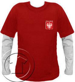 Bluza męska przedłużony rękaw- Polska własne nazwisko