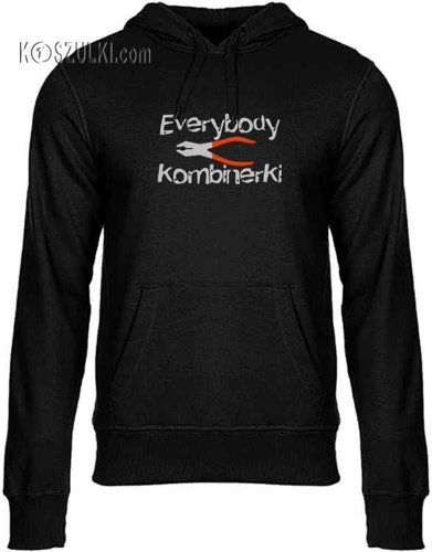 Bluza z kapturem EVERYBODY KOMBINERKI