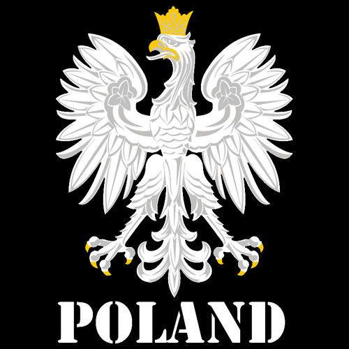 Bluza z kapturem Orzeł– Poland,czarna