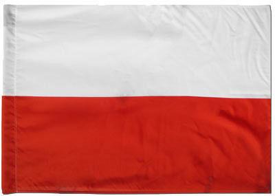 Flaga Polski szturmowa 90x144cm