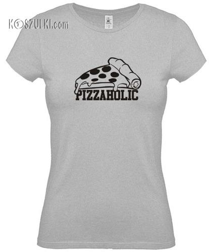 Koszulka damska Pizzaholic