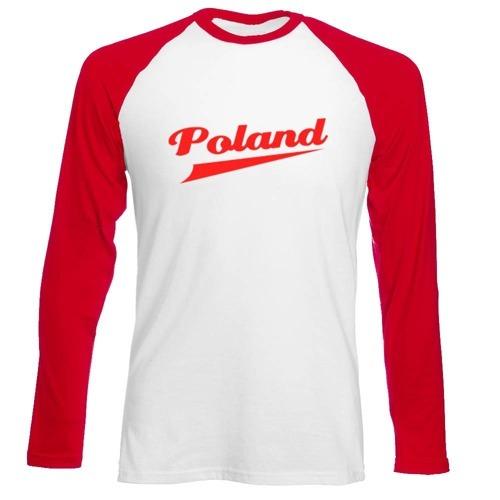 Longsleeve Męski - POLAND