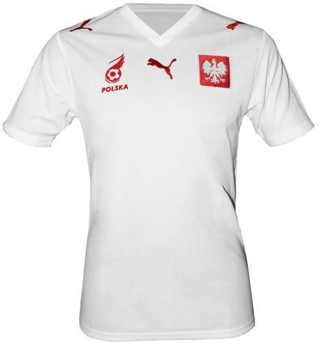 Oryginalna koszulka Puma Polska Biała