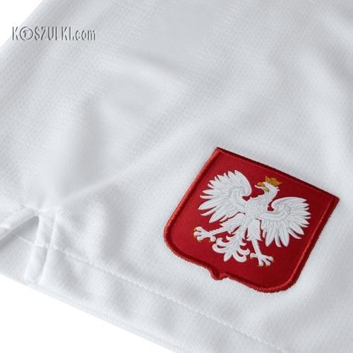 Spodenki Nike Polska Breathe home Stadium biale
