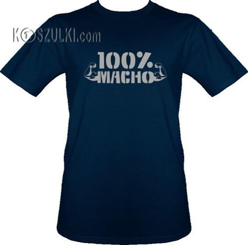 T-shirt 100% Macho