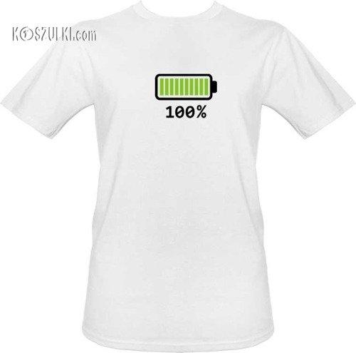 T-shirt Bateria 100%