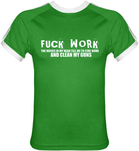 T-shirt FIT Fuck Work