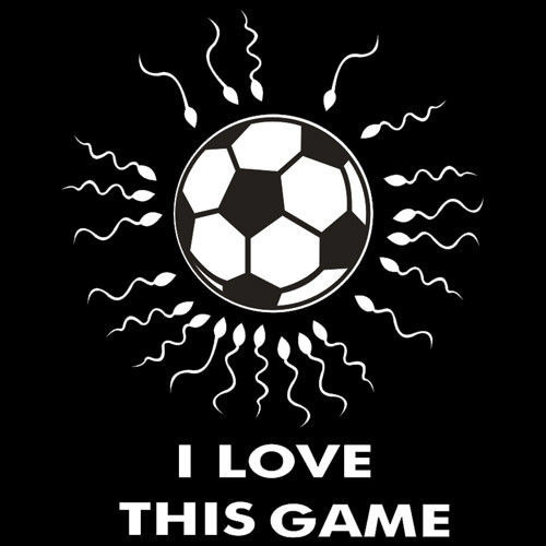 T-shirt Fit I Love this Game-Football