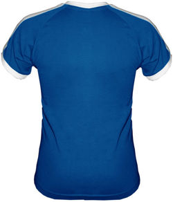 T-shirt Fit Plemnik-palacz Niebieski