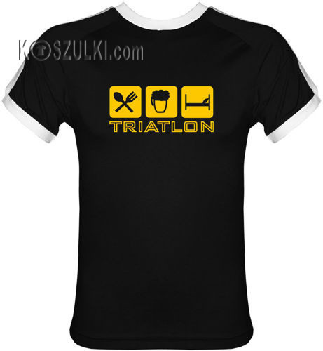 T-shirt Fit Triatlon Czarny