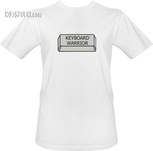 T-shirt Keyboard warrior
