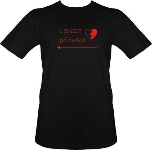 T-shirt Lepsza połówka