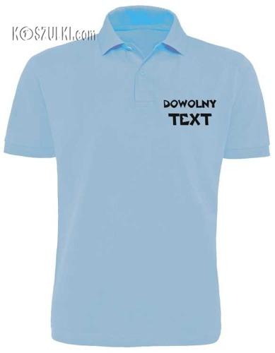 T-shirt dziecięcy Polo z własnym nadrukiem