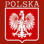 T-shirt Polo POLSKA + WŁASNE NAZWISKO