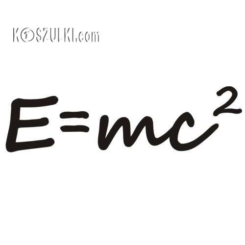 T-shirt dziecięcy- E=mc2
