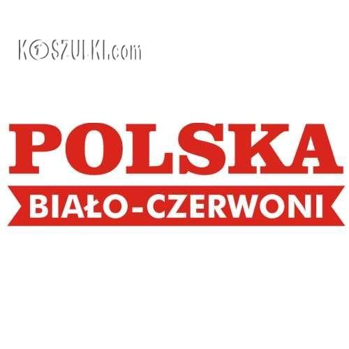 T-shirt dziecięcy Polska biało-czerwoni