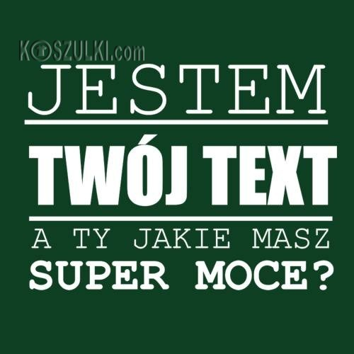 T-shirt super moce- Text