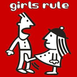 Top damski- Girls Rule