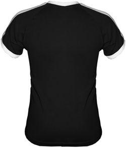 Tshirt Fit  z własnym nadrukiem czarny