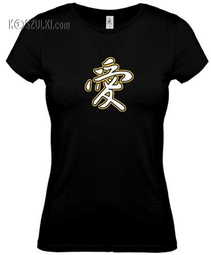 koszulka damska Miłość- CZARNA