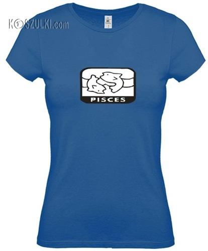 koszulka damska Ryby znak zodiaku