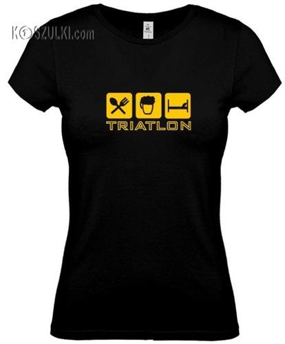 koszulka damska Triatlon