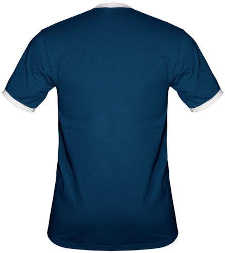 t-shirt 2K068 napis Polska Granatowa