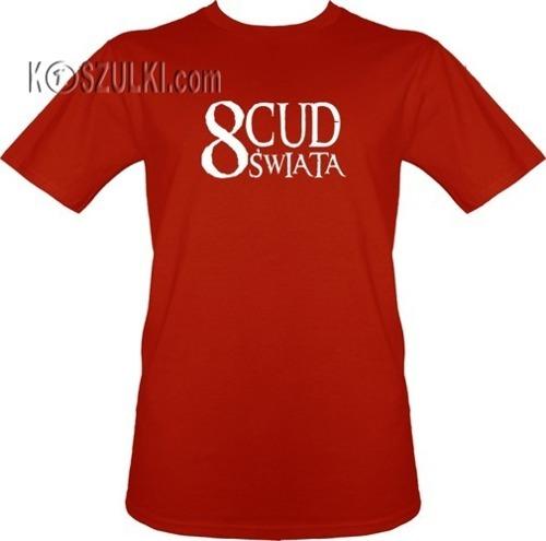 t-shirt 8 Cud Świata