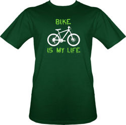 t-shirt Bike is my life