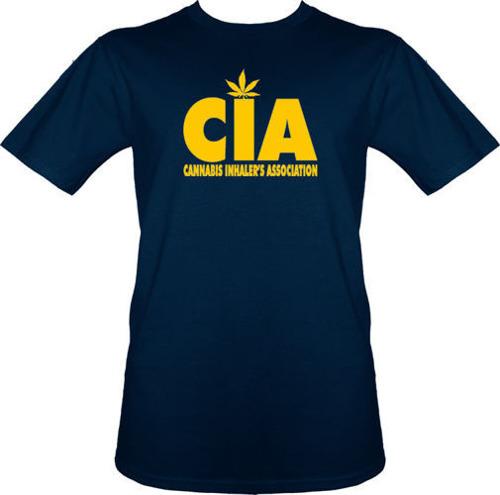 t-shirt Cannabis inhalers association C.I.A