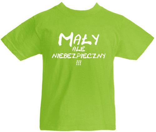 T-shirt dziecięcy- Mały Ale Niebezpieczny