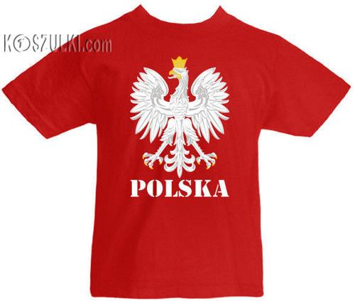 T-shirt dziecięcy Orzeł Polska
