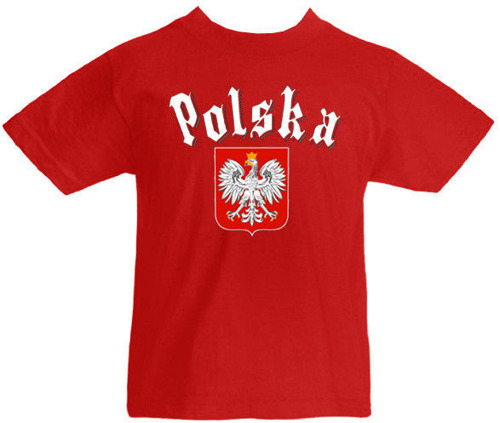 T-shirt dziecięcy- Polska Gotyk