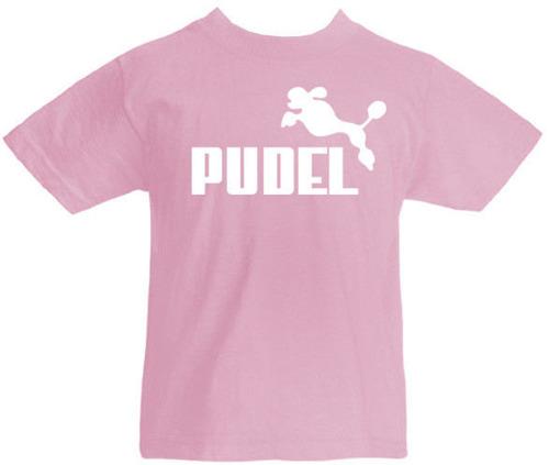 T-shirt dziecięcy  Pudel