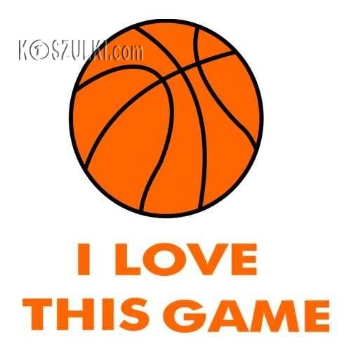 t-shirt I Love this Game Basketball