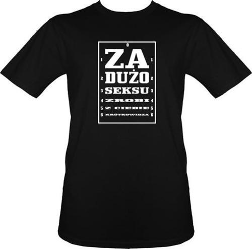 t-shirt Krótkowidz