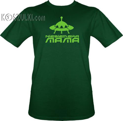 t-shirt Nieziemska mama