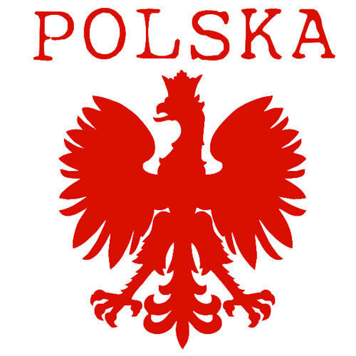 t-shirt Ramiączka TR008 Polska mały Orzeł Biały