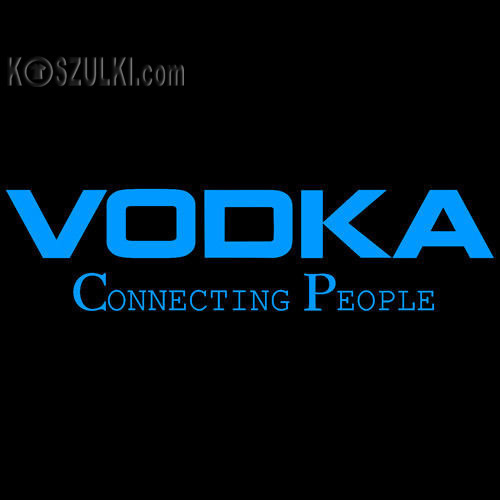 t-shirt Vodka Czarna