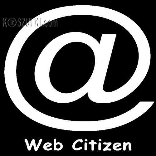 t-shirt Web Citizen-małpa