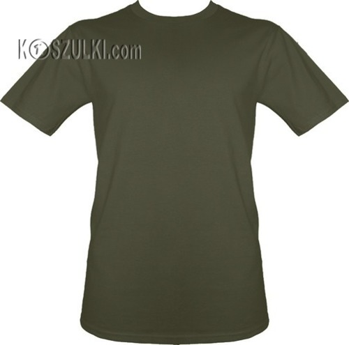 t-shirt bez nadruku Khaki